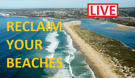 LIVE: Coverage of the reclaim of beaches against regulations – South Africa