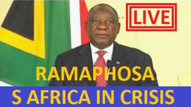 LIVE: Ramaphosa addresses the nation – 1 February 2021 – South Africa