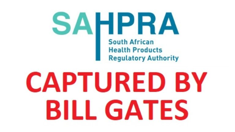 SAHPRA, captured by the Bill and Melinda Gates Foundation, block Ivermectin