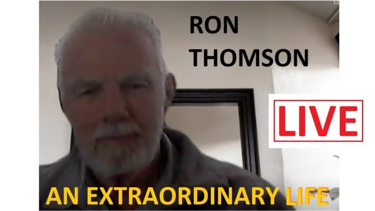 LIVE: An extraordinary life – Ron Thomson joins us tonight – Rhodesia & South Africa