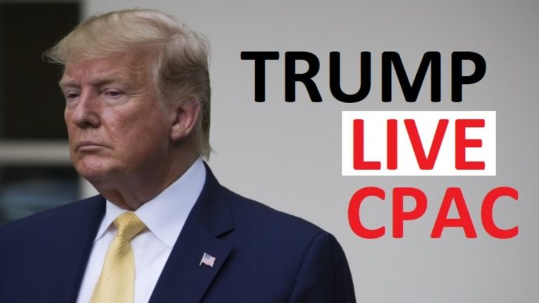 LIVE: Donald Trump speaks at CPAC, 28 February 2021