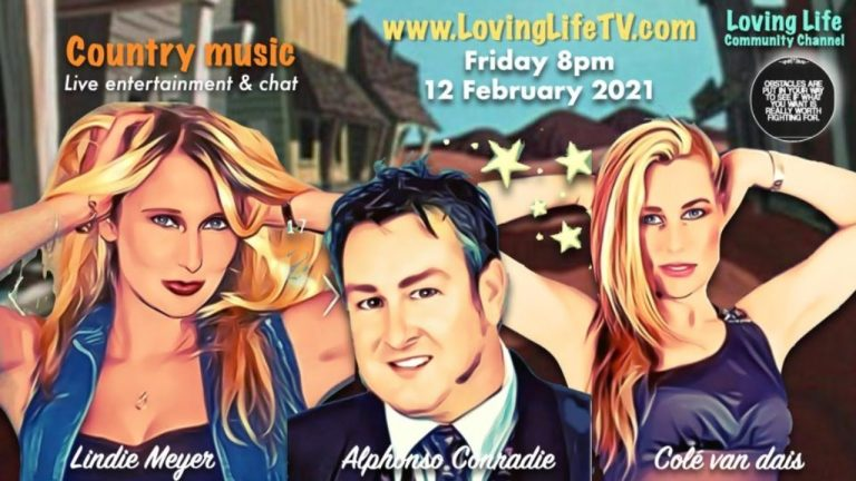 LIVE: Jamming Session, 12 February 2021 – 2 lovely ladies… Colé and Lindie Meyer joined by Alphonso