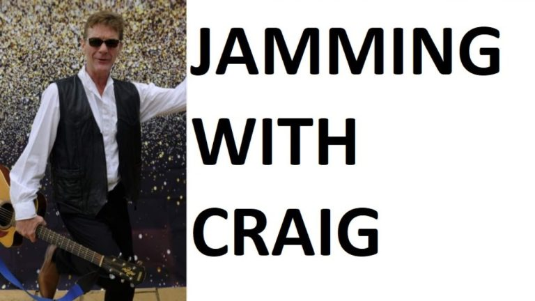 LIVE: Jamming with Craig on 18 February 2021