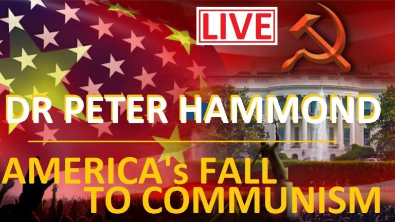 LIVE: North America's fall to communism – Dr Peter Hammond