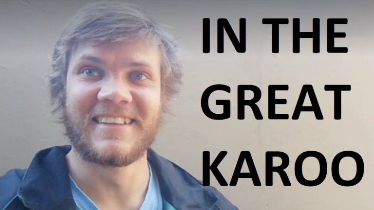 LIVE: Walk of faith – Jarrett at Laingsburg, approaches the final stretch | South Africa