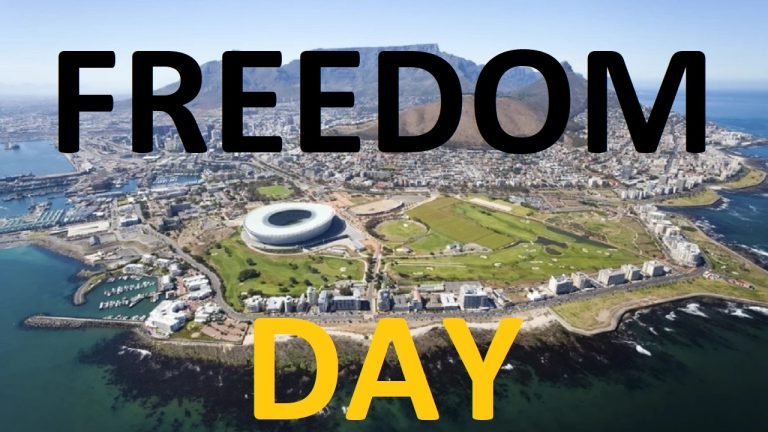LIVE: World Freedom Day in Cape Town, South Africa