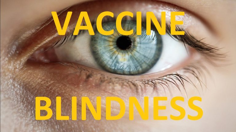 Eye issues including blindness as a result of Covid vaccines go unreported