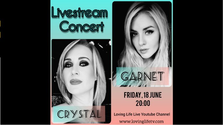 LIVE: JAMMING – Two beautiful ladies and great singers, Crystal and Garnet, join us tonight