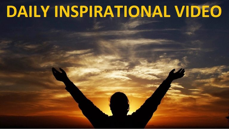 DAILY INSPIRATIONAL VIDEO (31 JULY 2021) – Dare to dream