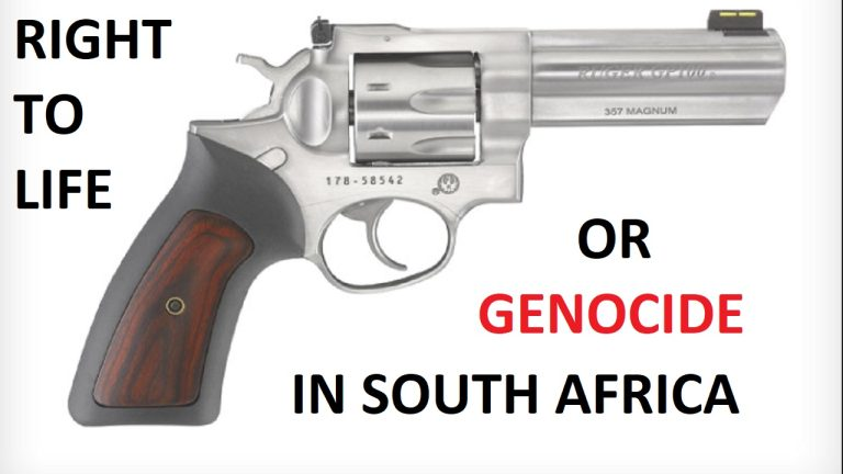 LIVE: White South Africans are facing legislation aimed at disarming them. Why is this a problem?