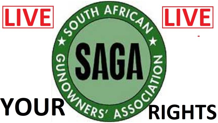 LIVE: The South African Gun Owners' Association fight back against planned unconstitutional gun laws