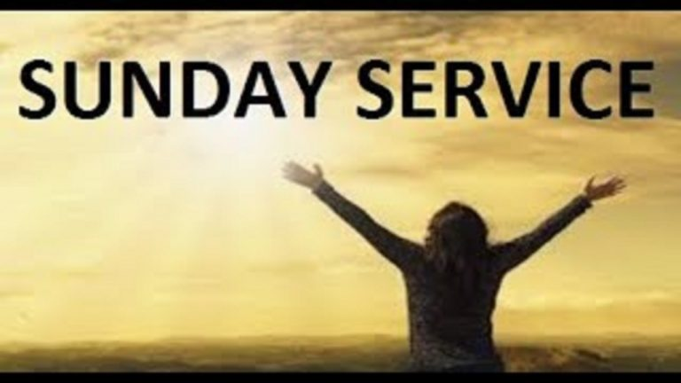 Sunday Service (8 August 2021) – Let me wash your feet