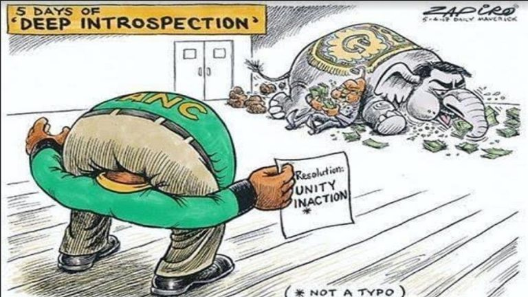 Listen to the chaos taking place behind the scenes of an ANC National Executive Committee meeting