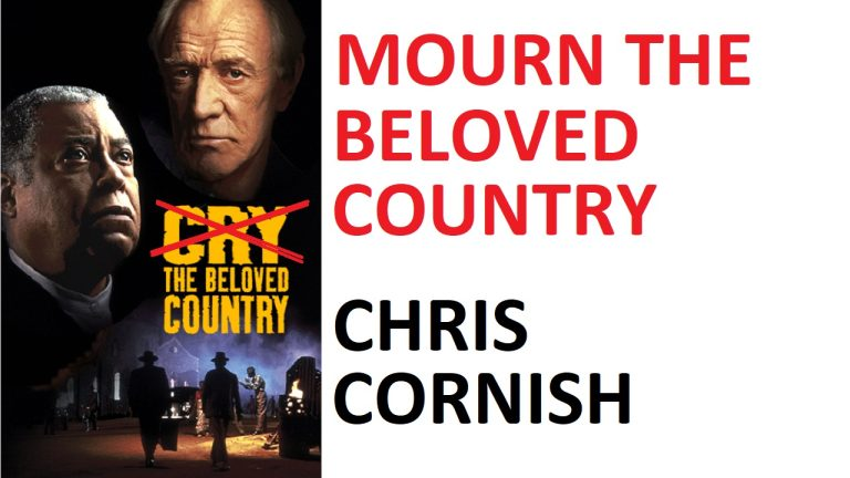 LIVE: Mourn the beloved country – Chris Cornish | South Africa