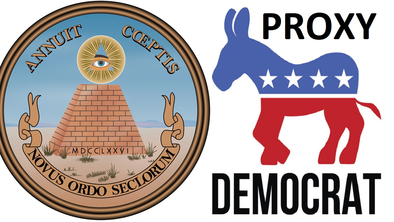 US Democrats are a proxy for the new world order's agenda ...