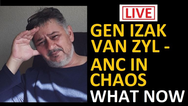 LIVE: Boerelegioen's General Izak Zyl talks openly to us about the challenges facing South Africa