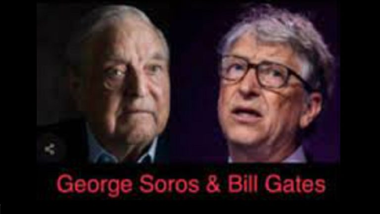 Gates and Soros planning to own your health – the proof