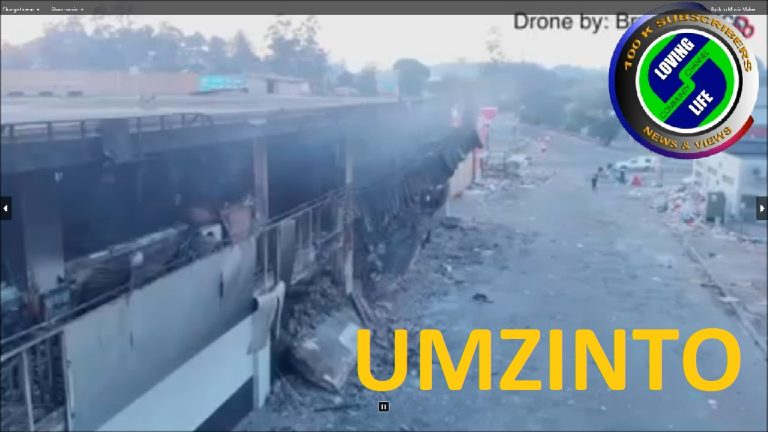 The devastation suffered by the community at Umzinto south of Durban | South Africa