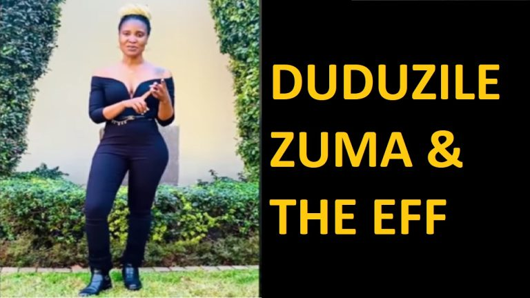 Zuma's daughter now cozies up to Julius Malema of the EFF | South Africa