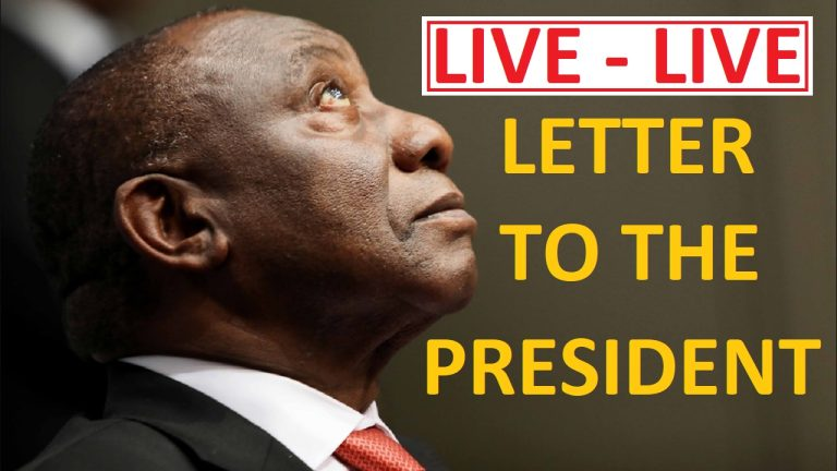 LIVE: LETTER TO THE SOUTH AFRICAN PRESIDENT: Dr Herman Edeling discusses his letter that went viral.