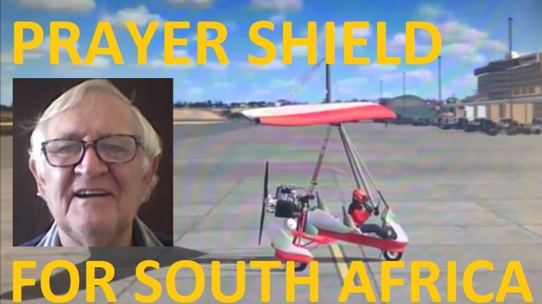 Leg 19 – Alexander Bay to Kleinsee – Prayer shield for South Africa