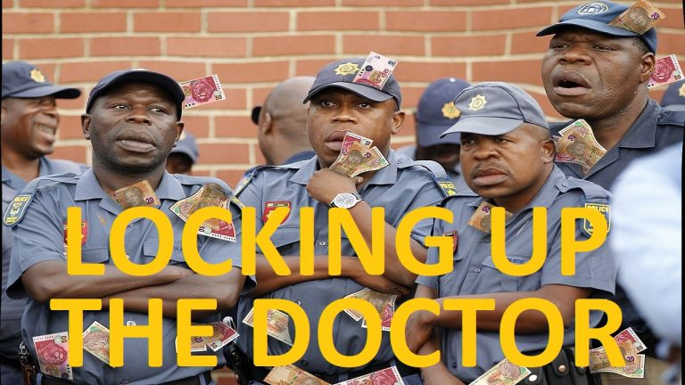LIVE: SAPS lock up this doctor for saving lives in South Africa
