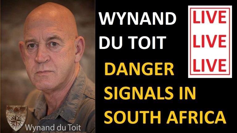 LIVE: Colonel Wynand du Toit – Danger signals in South Africa