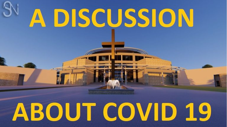LIVE: Soweto Church tackles the covid issue with its congregation – we join them.
