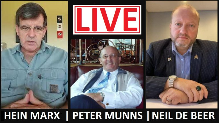 LIVE: South Africa in Crisis: Dr Peter Munns, Neil de Beer, Petrus Sitho and Veronica Ncube discuss