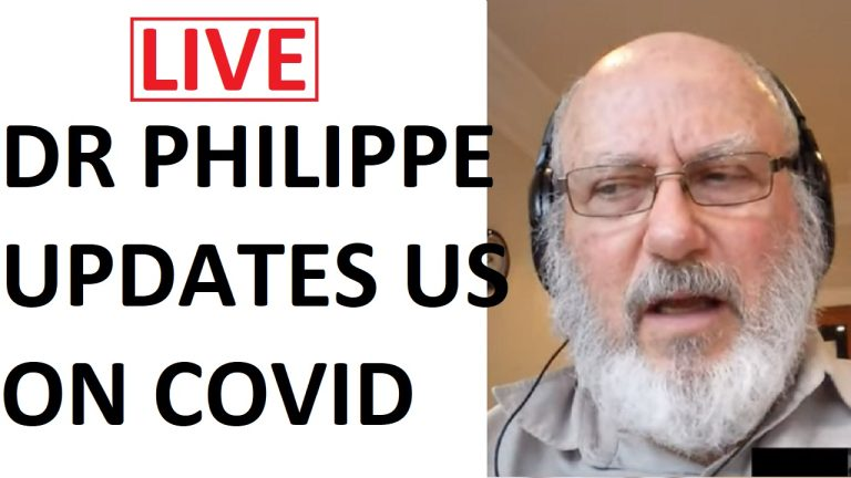 LIVE: Dr Philippe blows the whistle on the experimental covid drug roll out