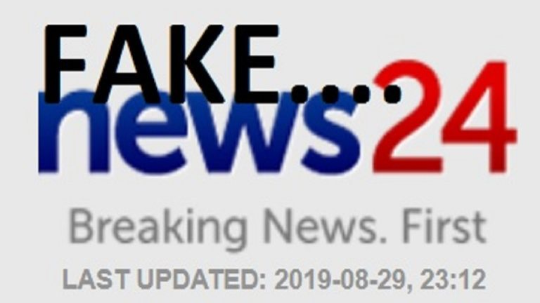 With no credibility – how low can News24 go? South Africa