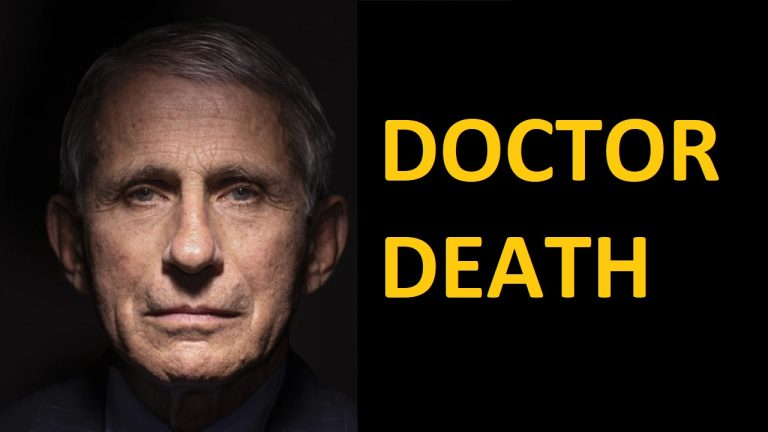 It's time to take Dr Death/Fauci down as the swamp is protecting him from arrest