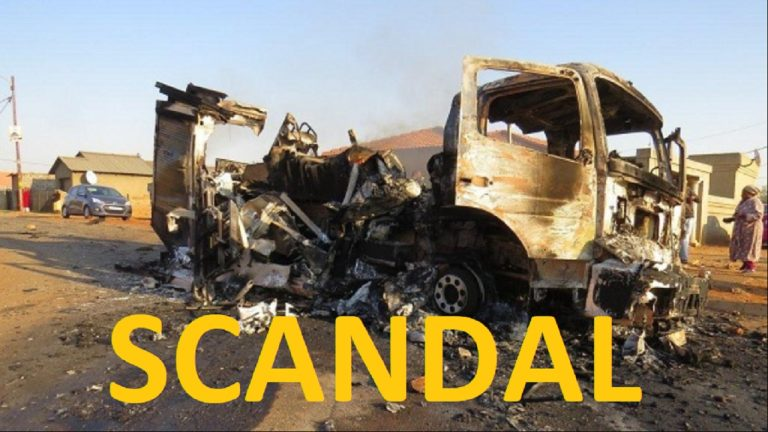 South Africa on fire – but not a fire engine to be found