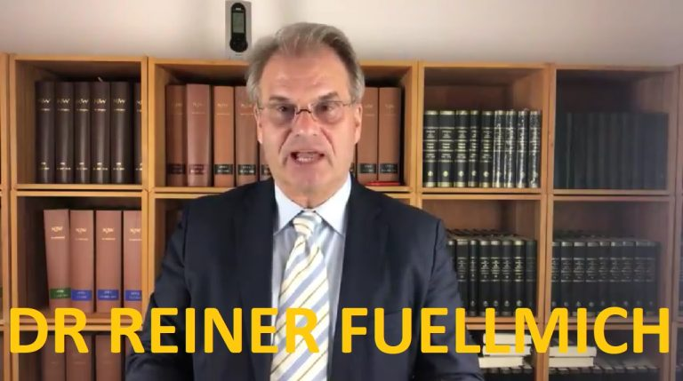 Dr Reiner Fuellmich spells out the planned genocide happening right now
