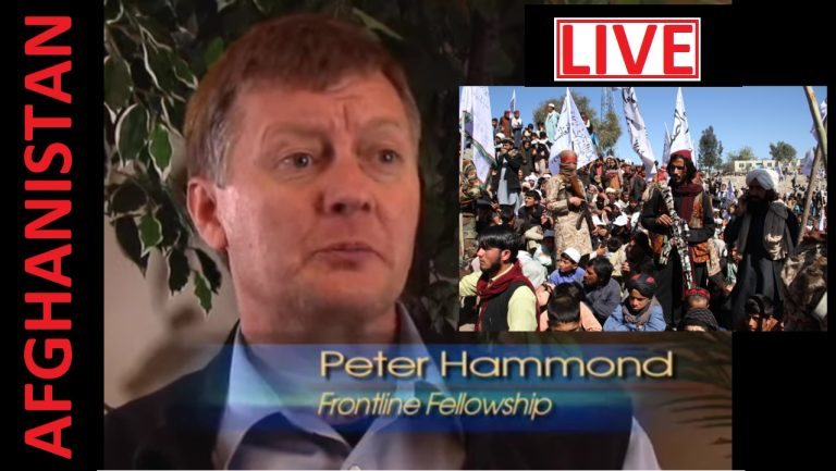 LIVE: The story behind American treachery and the retreat from Afghanistan – Dr Peter Hammond