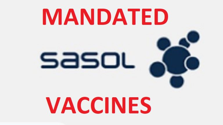 Whistleblower, Hannetjie Venter, exposes the illegal vaccinating of staff at SASOL in South Africa