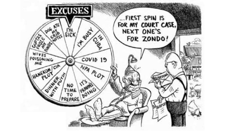Ex President Zuma gets a free pass from a well placed mate | South Africa