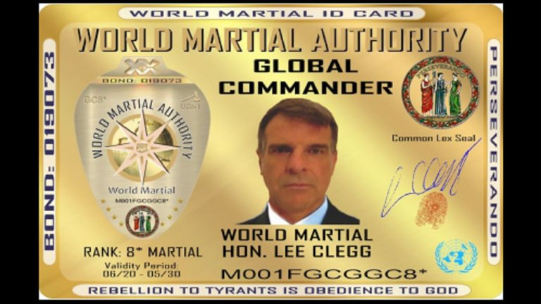 LIVE: The World Martial Authority have put President Ramaphosa on notice – meet their leader Global Commander Hon Lee Clegg