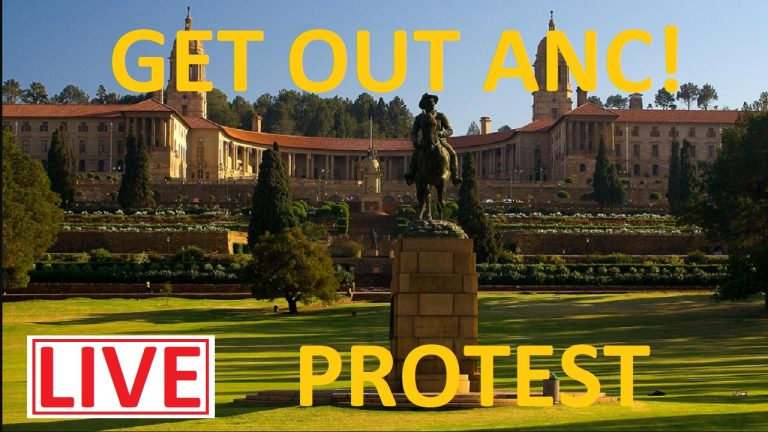 LIVE: Members of WMA meet at Union Buildings to demand ANC step down | South Africa