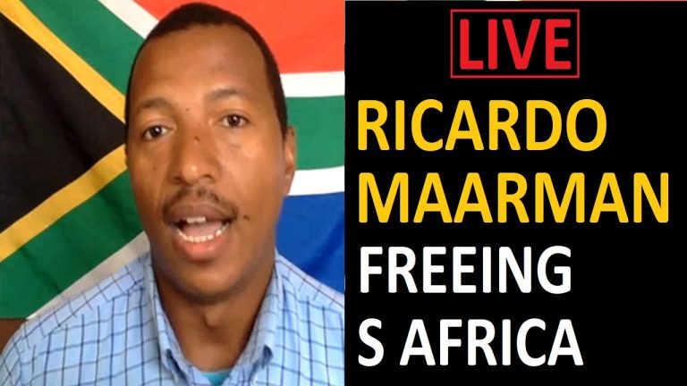 LIVE: Ricardo Maarman – is South Africa's highest court going to set us free from the NWO?