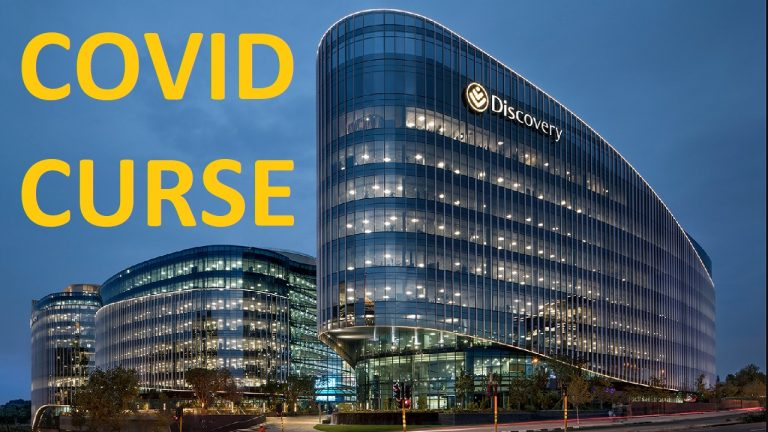 The Covid Curse now comes home to roost at Discovery and other companies in South Africa mandating the jab for staff