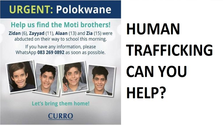 Indian children in South Africa kidnapped