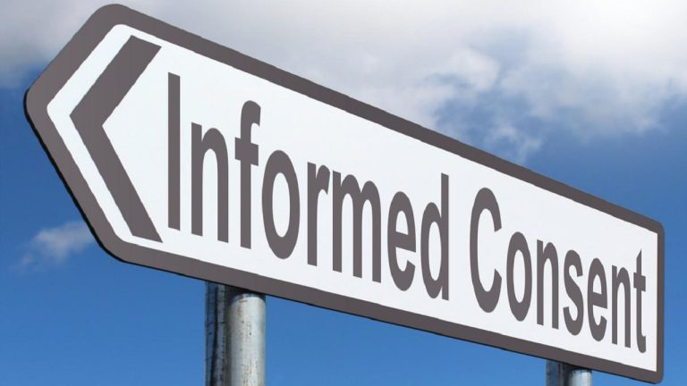 Informed consent – would you give informed consent to thieves to explore your home while you are away?