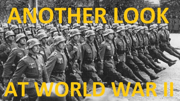"""LIVE: History rewritten – how the winner always has the last say when it comes to the """"facts"""" – let's look at world war two"""